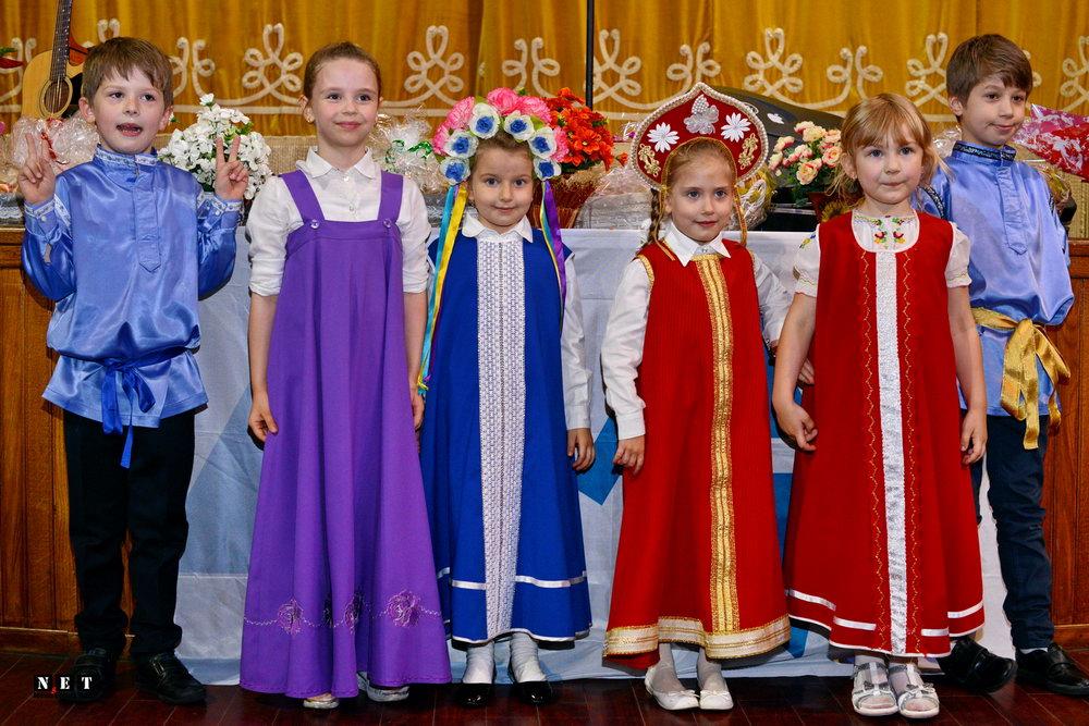 Дети русских липован в Италии Турине