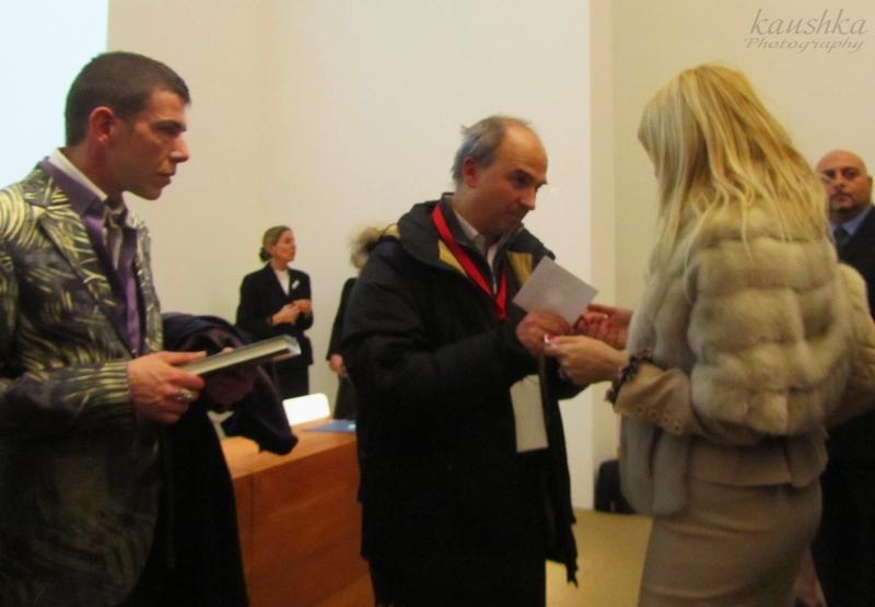 Ilian Rachov, Barbara Castellani