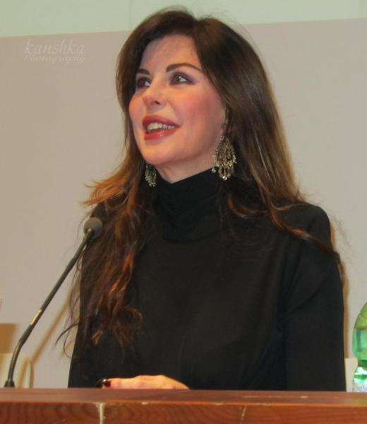 Альба Париетти дает интервью порталу News Events Turin