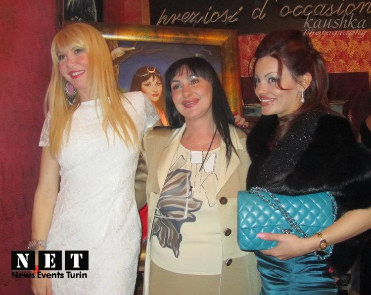Вечера и презентации в Турине Barbara Castellani Torino