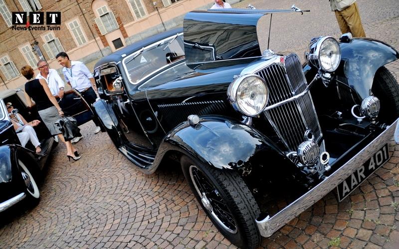 Античные итальянские автомобили Турин Италия