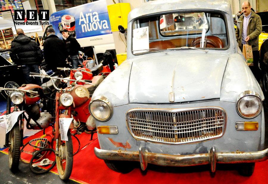 Esposizione auto moto d'epoca Torino