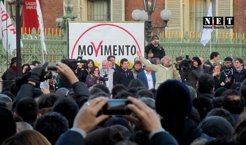 Beppe Grillo Torino 2013