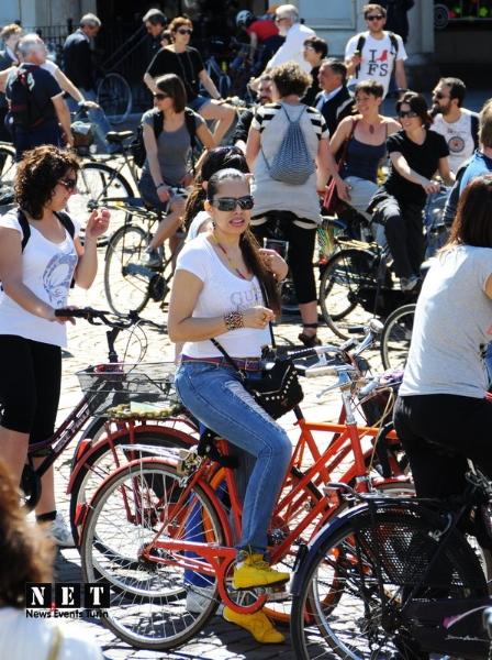 Ежегодный велопарад Италия