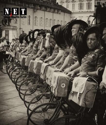 Альбомы велосипедных парадов в Италии Турине