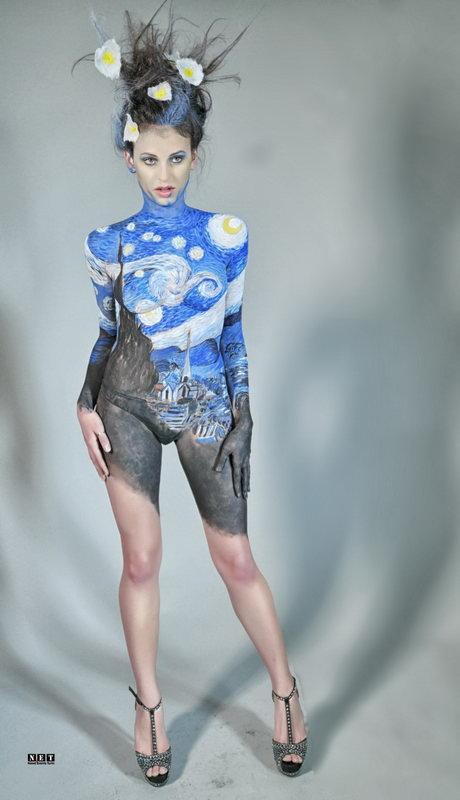 Body Painting Art Torino Italia