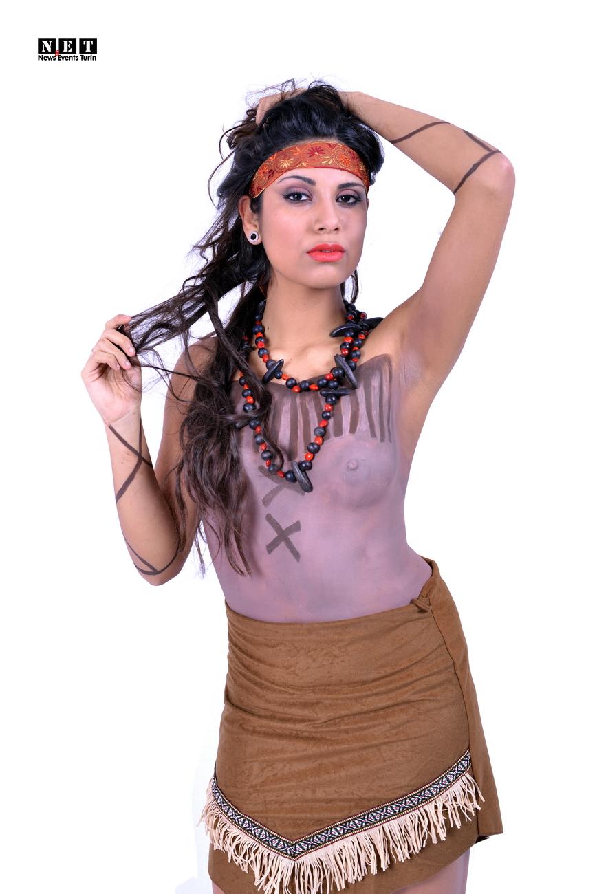 Native American Indians NewsEventsTurinFashion Body Art