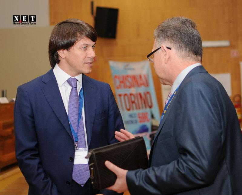 Ministro della giustizia moldava a Torino business forum