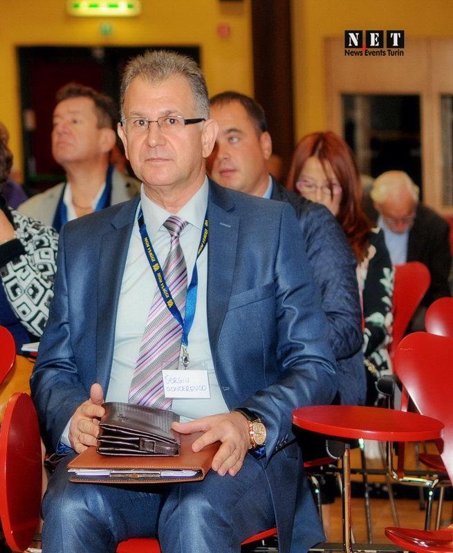 Sergiu Goncerenco Conlsolato Generale della Repubblica di  Moldova a Milano Business Forum Torino