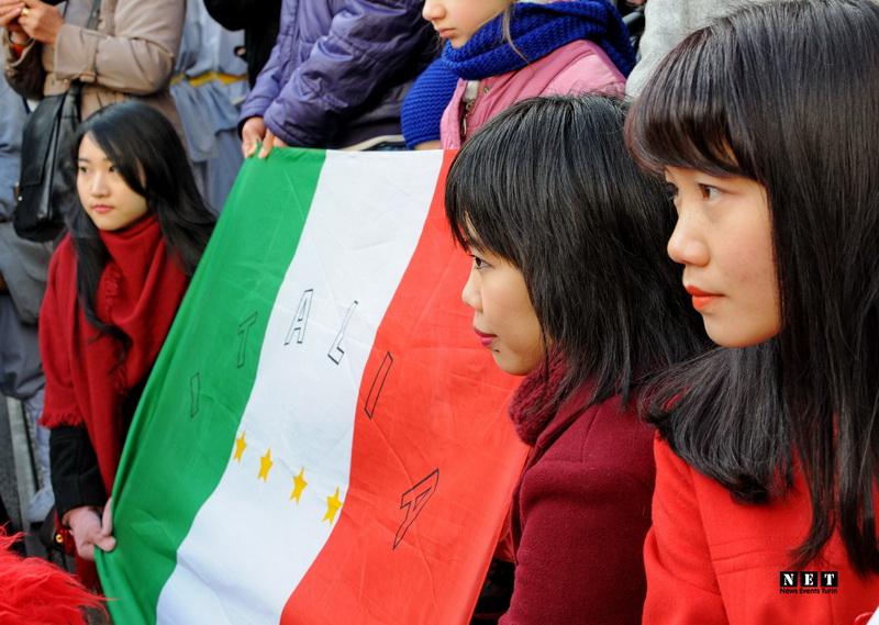 Китайцы Италия праздник весны