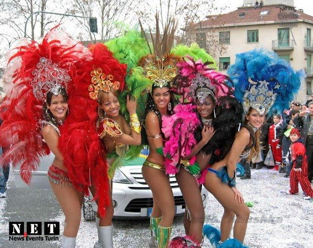 Карнавал в Турине 2008