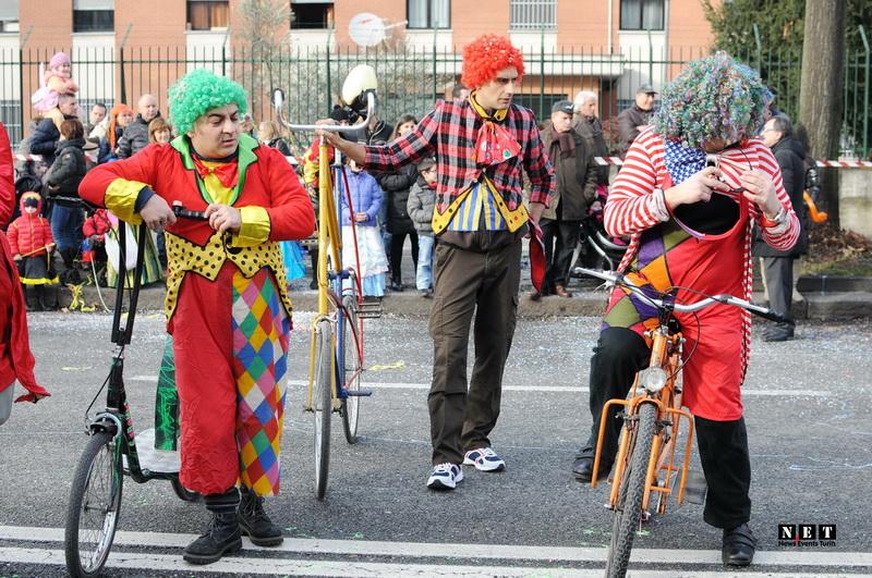 Турин Италия Карнавал 2015 фото видео