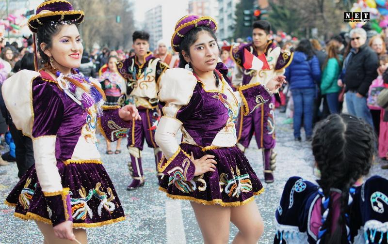 Перувианки Турина на карнавале 2015