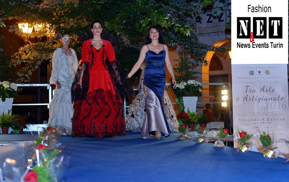 Stilista Adele Vasilache in concorso Castellamonte Italia Piemonte