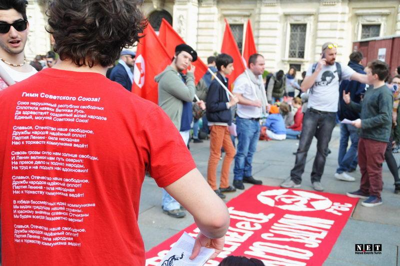 Гимн советского союза на майке у итальянца