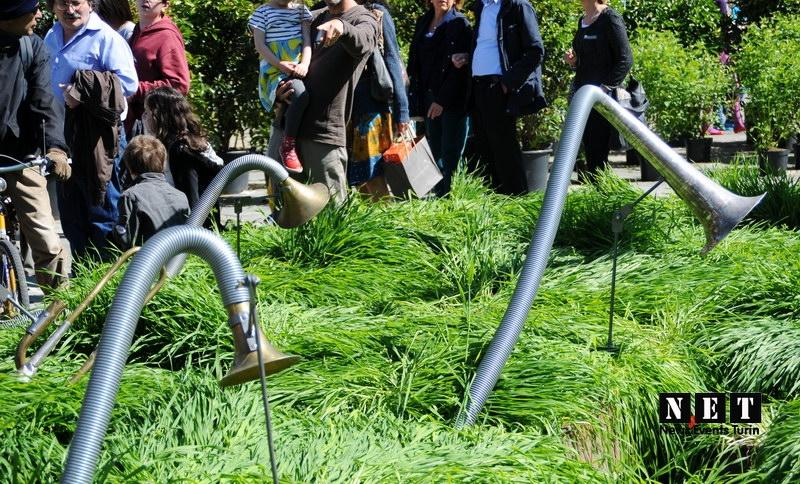 Французы в Турине открыли роскошный сад в центре города