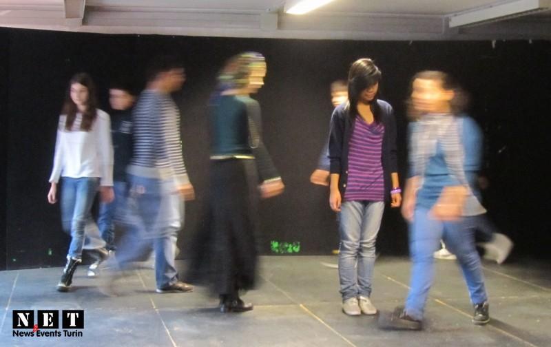 Итальянская школа театральные сцены в Турине