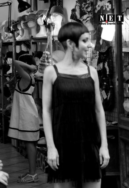 Sfilata a negozio Nina Tauro.