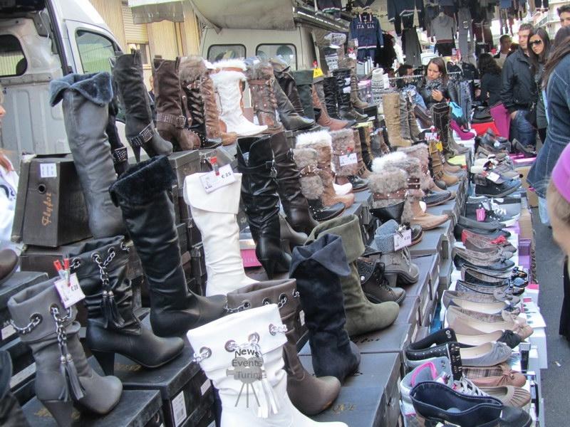 Итальянские сапоги в Турине Италия