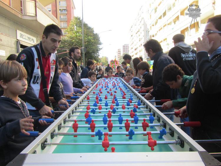 Ярмарки и игры в Турине в выходные дни