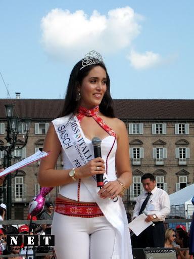 Мисс Италия девушка с перуанскими корнями