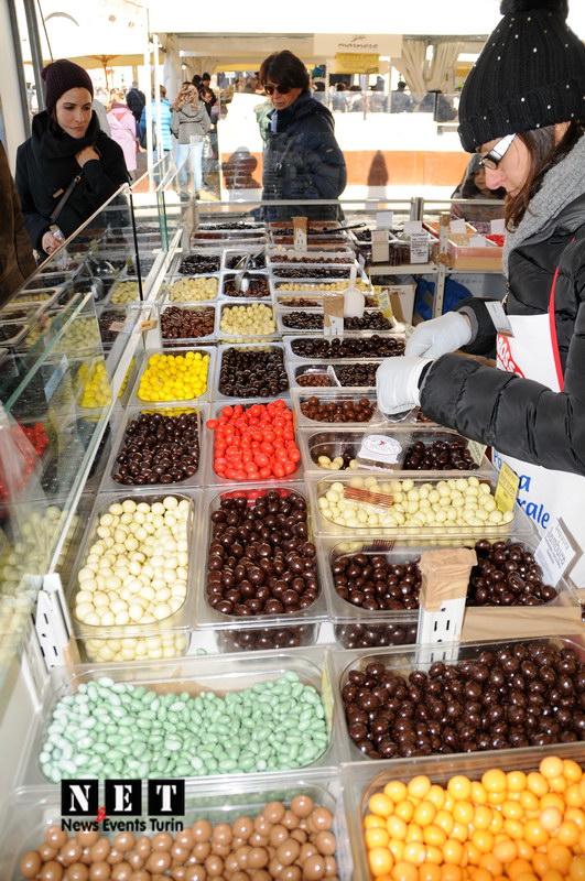 Итальянский шоколад большой выбор в Турине