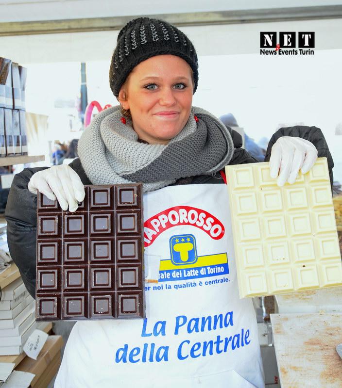 Самостоятельная поездка в Турин шоколад фестиваль
