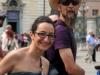 Фрагмент из велопробега в Турине