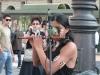 Индейцы на улицах Турина