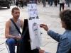 Уличные художники в Турине