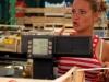 Итальянка продавщица персиков
