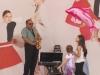 Саксофонист и дети via Roma
