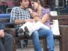 Молодежь Турина на скамейке