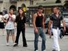 Прохожие на площади Кастелло