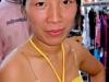 Китаянка продавщица с рынка Турина