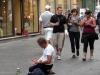 Просящий милостыню в Турине