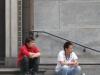 Китайцы у церкви