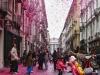 Улица Гарибальди в розовом цвете