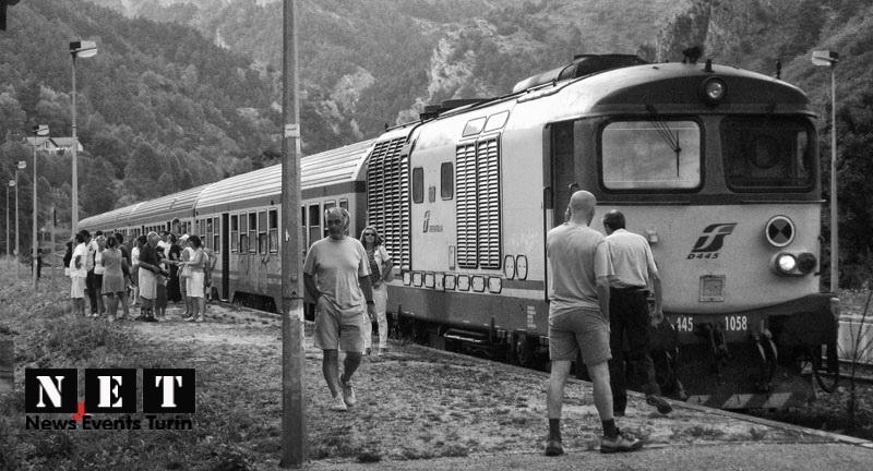 Итальянская железная дорога горы Франции