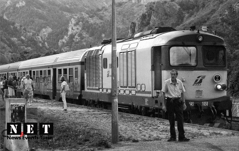 Итальянский поезд застрял во Франции