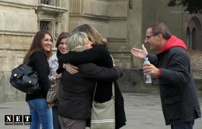 Abbracci Gratis Italia Torino Free Hugs Turin Italy