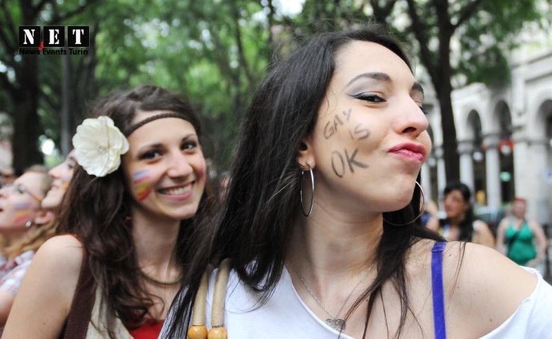 Gay Pride Torino Italia Foto Video