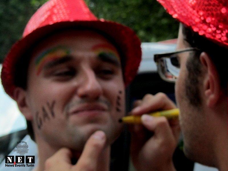 Гей парад Турин Италия 2012