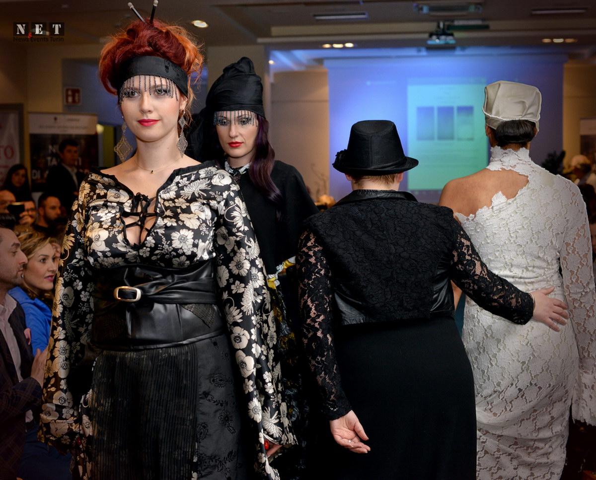 Alta moda italiana concorso a golden Palace Torino