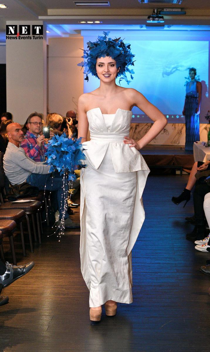 Супер итальянская мода в Италии на показе в Турине