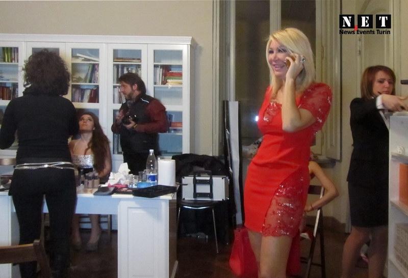 Ведущая вечеров в Турине Barbara Castellani