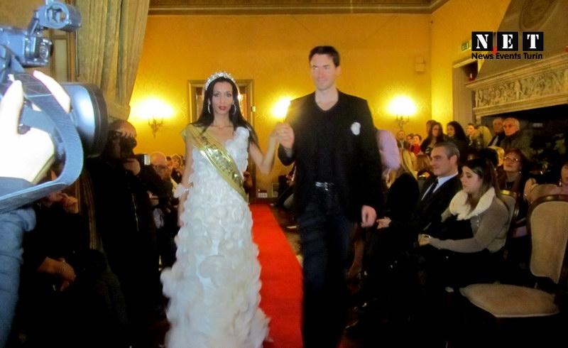 Принц Монако и мисс Болгария на вечеринке моды в Турине