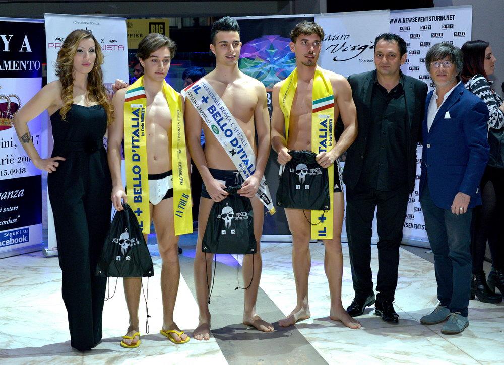 Престижный конкурс красоты в Италии