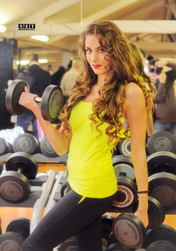 Фитнес центры в Турине Италии Фотосессия в спортзале Турин