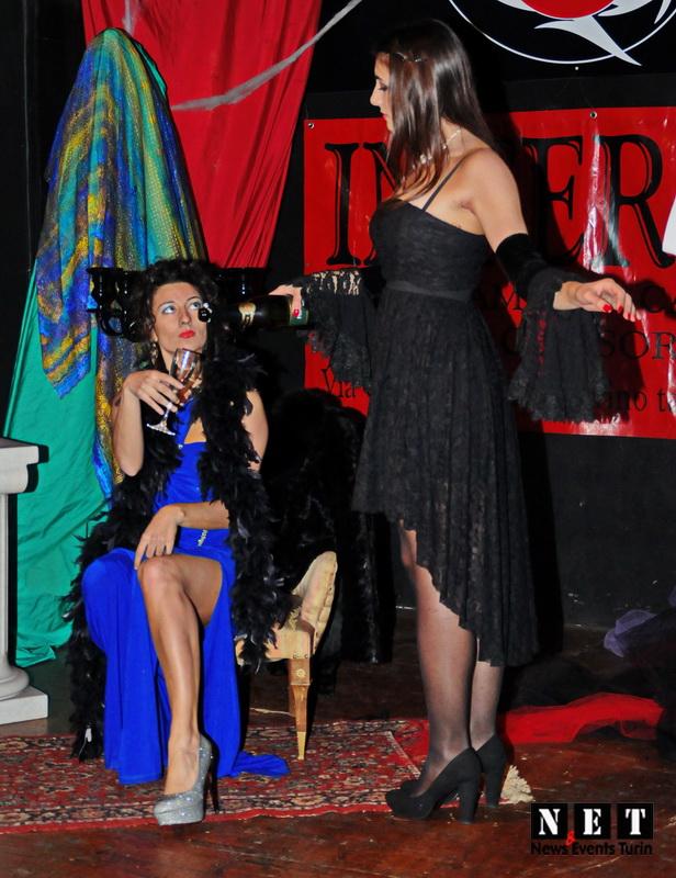 Адский бар Турин Италия тематические вечера